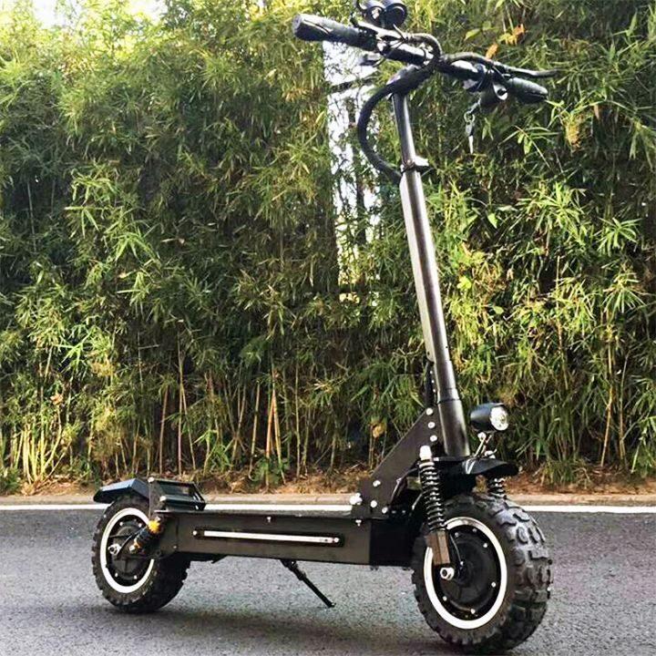 двухмоторный электросамокат alligator electric scooter