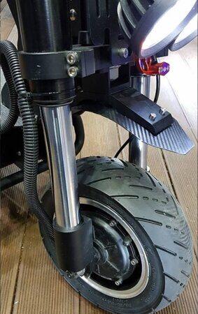 El-Sport Curru RS  Dual переднее колесо и подвеска